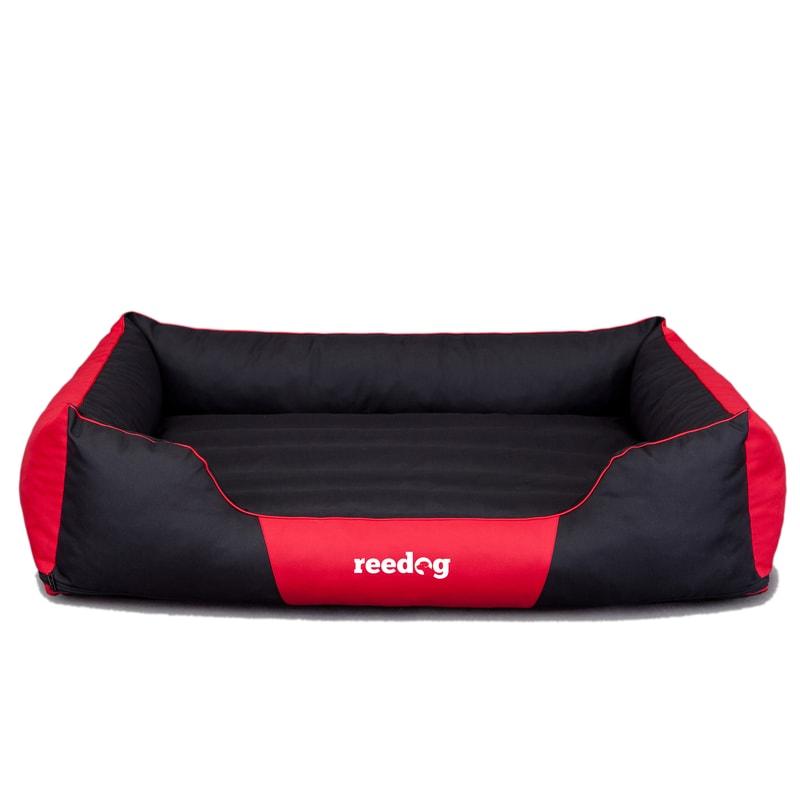 Reedog Pelíšek pro psa Reedog Comfy Black & Red - 3XL