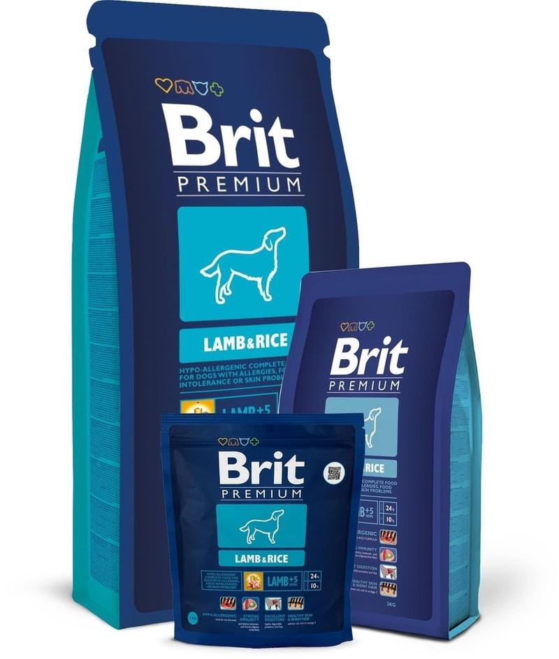 Brit Brit Premium Dog Lamb & Rice 15kg