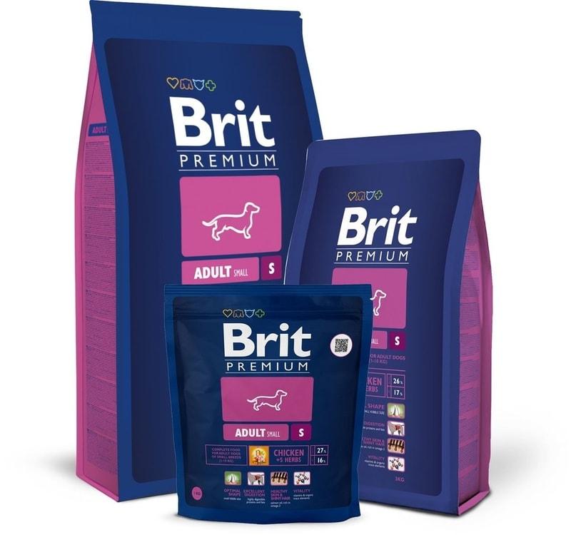 Brit Brit Premium Dog Adult S 8kg