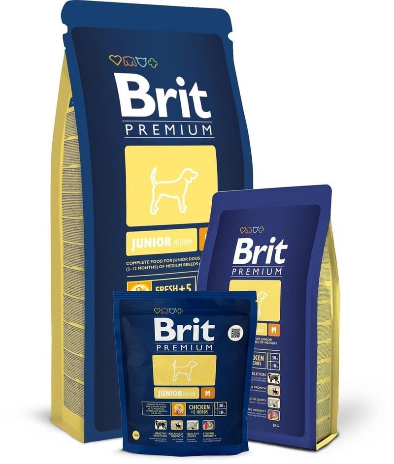 Brit Brit Premium Dog Junior M 3kg