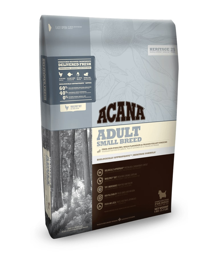 Acana Acana Adult Small Breed Heritage 6kg