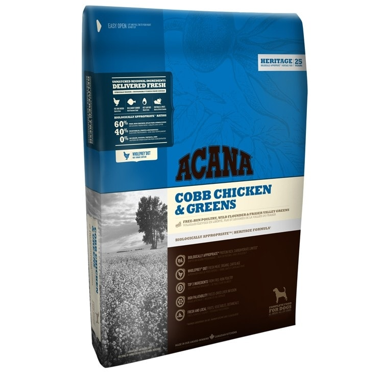 Acana Acana Dog Cobb Chicken & Greens Heritage 11,4kg