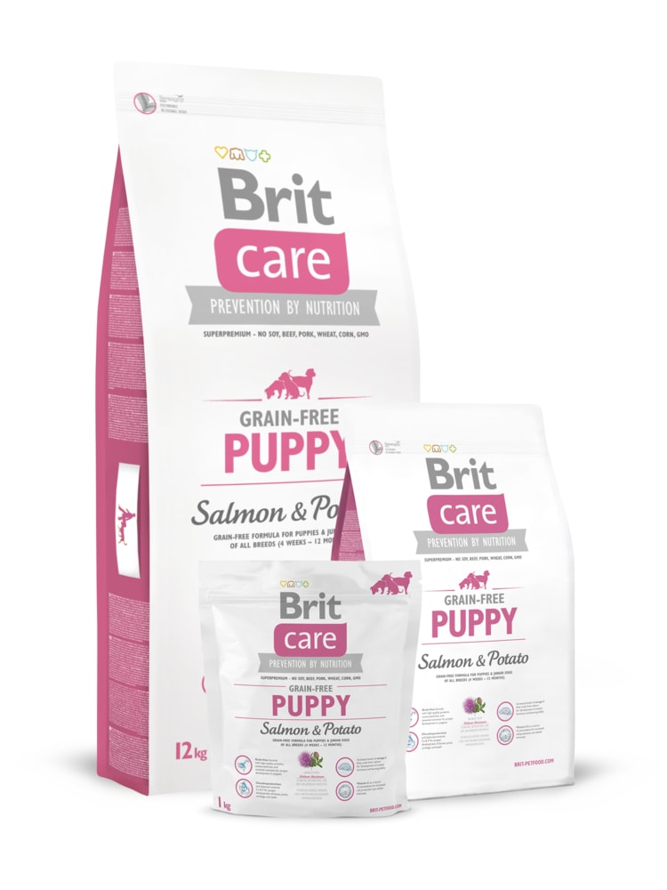Brit Brit Care Dog Grain-free Puppy Salmon & Potato 3kg