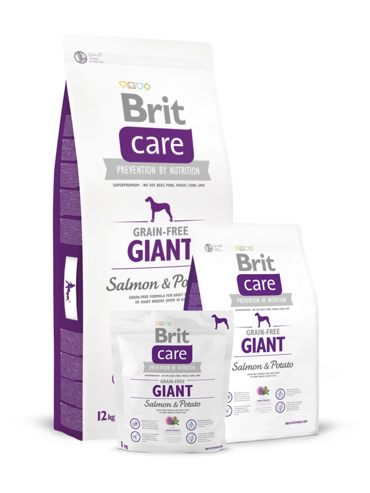 Brit Brit Care Dog Grain-free Giant Salmon & Potato 3kg