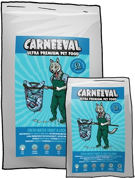 Carneeval Carneeval Fresh Water Trout & Loch Salmon 18kg