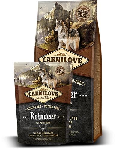 Brit Carnilove Dog Reindeer for Adult 1,5kg