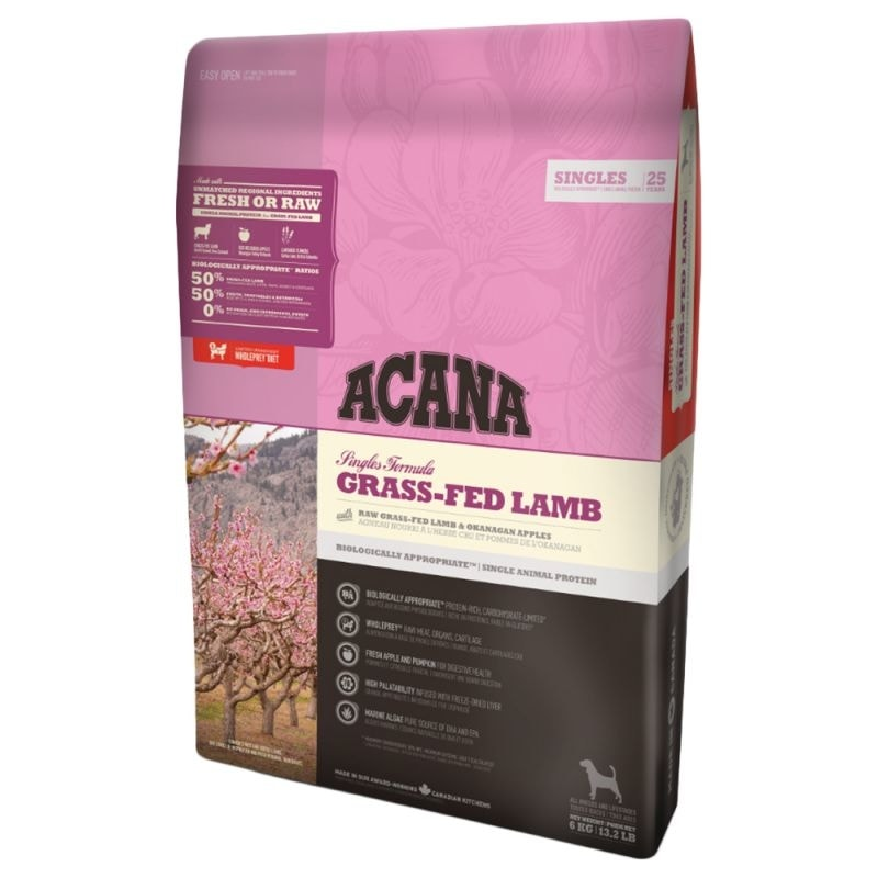 Acana Acana Dog Grass-Fed Lamb Singles 2kg