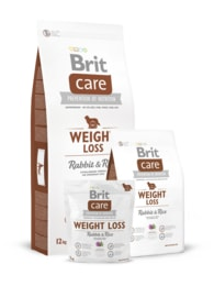 Brit Care Dog Weight Loss Rabbit & Rice 2x 12kg